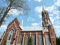 Red Catholic Church, Lithuania