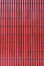 Red ceramic tiles abstract texture background Stock Photography