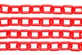 Red chain Royalty Free Stock Images