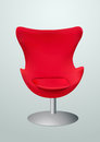 Red chair for the vip clip art Stock Image