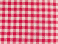 Red checkered fabric and white square striped texture background Stock Photography