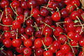 Red Cherries Stock Image