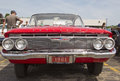 1961 Red Chevy Impala Front View Royalty Free Stock Photo