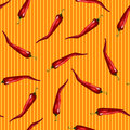 Red chili pattern this is file of eps format Royalty Free Stock Photography