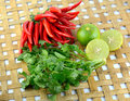 Red chili pepper hot and spicy for cooking Stock Images