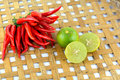 Red chili pepper hot and spicy for cooking Stock Photo