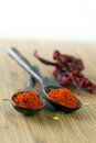 Red chilli powder Royalty Free Stock Image