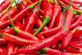 Red chilly from thailand asia Royalty Free Stock Photo