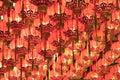 Red Chinese Lanterns Royalty Free Stock Image