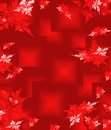 Red christmas background in elegant style computer generated graphics Royalty Free Stock Image