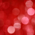 Red christmas background stock photos lights blurred white dots wallpaper Royalty Free Stock Photo