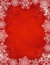 Red christmas background, vector Royalty Free Stock Photo