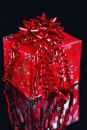 Red Christmas Gift Stock Photography