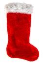 Red Christmas Stocking. Decora...