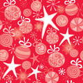 Red Christmas wrapping Royalty Free Stock Photo