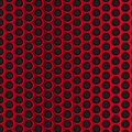 Red circle perforated metal grill vector pattern Royalty Free Stock Photo