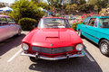 Red classic 1964 Rivolta GT Coupe Royalty Free Stock Photo