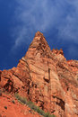 Red cliff mountains Royalty Free Stock Image