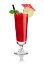 Red cocktail Royalty Free Stock Photo
