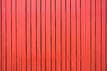 Red Colored Wood Fence Texture...