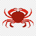 Red crab icon