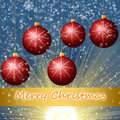 Red Cristmass background Royalty Free Stock Photo