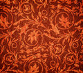 Red crumpled fabric Royalty Free Stock Photo