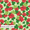 Red currant seamless pattern can be used for wallpaper website background textile printing Stock Image