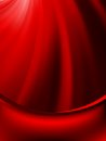 Red curtain fade to dark card eps vector file included Stock Photography