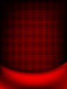 Red curtain fade to dark card eps vector file included Stock Image