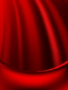 Red curtain fade to dark card eps vector file included Royalty Free Stock Image