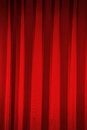 Red curtains in theater Royalty Free Stock Photo