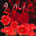 2015 Red Daisies