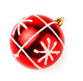 Red decoration ball Stock Photography