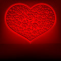 Red design heart