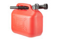Red Diesel Canister jerrycan. Royalty Free Stock Photography