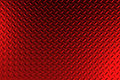 Red dirty checkered steel plate