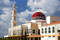 Red Domed Mosque Stock Photos