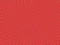 Red dotted background Stock Photography