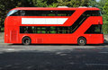 Red double deck bus Royalty Free Stock Photo