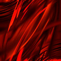 Red drapery Royalty Free Stock Photos