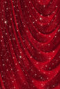 Red drapery background Royalty Free Stock Photography