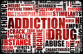 Red Drug Addiction Royalty Free Stock Photos