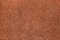 Red dry grungy clay tennis Royalty Free Stock Photo