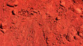 Red earth in australia Royalty Free Stock Image