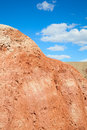 The red earth of stone desert Royalty Free Stock Photo
