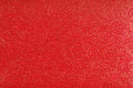 Red Ethnic Fabric Design Royalty Free Stock Images