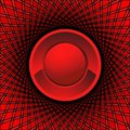 Red eye abstract Stock Image