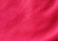 Red fabric texture background Royalty Free Stock Photo