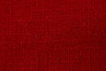 Red fabric texture a macro close up of Royalty Free Stock Images